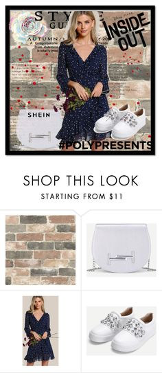 """SheIn 4/ 10"" by emina-095 ❤ liked on Polyvore featuring Wall Pops!, Disney, shop, woman, polyvoreeditorial and shein"