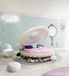 Click in the image to find more kids bedroom inspirations with Circu Magical Furniture! Be amazed with Circu Magical furniture and their luxury design: CIRCU. Bedroom Themes, Girls Bedroom, Bedroom Decor, Baby Bedroom, Bedroom Ideas, Bedrooms, Inspiration For Kids, Room Inspiration, Mermaid Bedding