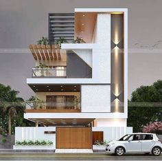 House Outer Design, House Outside Design, Best Modern House Design, Modern Exterior House Designs, Modern House Facades, Latest House Designs, House Front Design, Small House Design, Modern Design