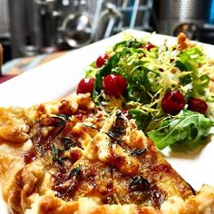 Who is hungry?? Try our braised leek and goat cheese tart at the Brooklyn Winery wine bar!