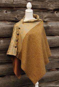 Harriet Hoot Harris Tweed Luxury Poncho
