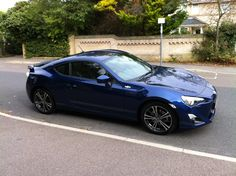 GT86 Blue - It's here! - Toyota GT 86 Forums UK - Page 1