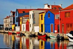 From cute little fishing villages to gorgeous ancient cities, discover the most beautiful towns Portugal has to offer. Visit Portugal, Spain And Portugal, Portugal Travel, Places Around The World, The Places Youll Go, Places To Visit, Around The Worlds, Algarve, Voyage Europe