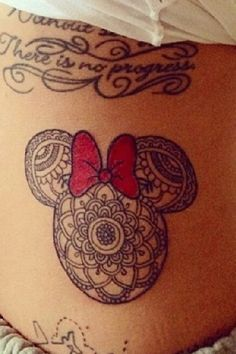Minnie Mouse love!