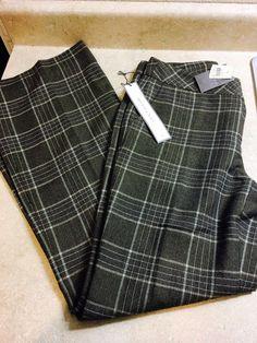 Ann Taylor Loft Bootcut Margo Green Plaid Career Dress Pants Size 2 | eBay