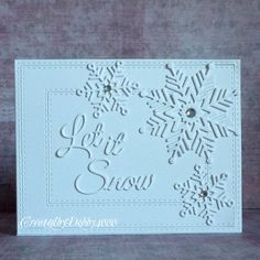 I need some quick Christmas cards since Ive received some not on my list, Hubby says he needs a...