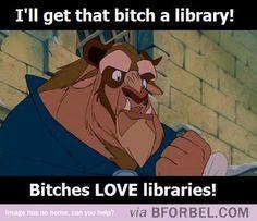 b for bel: How Beast won Belle's Heart haha #disney