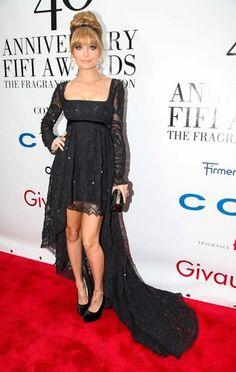 Nicole Richie. Hair, Dress. Perfect.