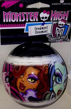 Monster High Ornament Christmas Holiday Tree Decoration NEW