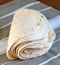 DIY Tortillas - Sure they're cheap at the store...but that's not really the point now is it? 4 ingredients... and SO much better ;)