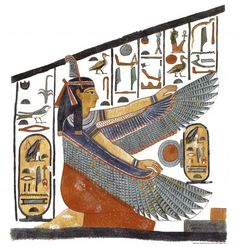 My Miga had the goddess Maat tattooed on her arm. I'd like to incorporate Maat into my new ink somehow.