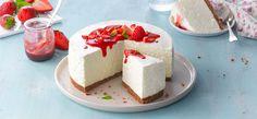 Ever So Easy Cheesecake: Philadelphia Cheesecake Philadelphia, Philadelphia Torte, Mini Cheesecake, Easy No Bake Cheesecake, Classic Cheesecake, Food Cakes, Lemon Recipes, Sweet Recipes, Cheesecake Tradicional