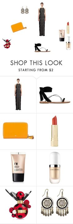 """India"" by fernanda-bravo-argueta on Polyvore featuring moda, Badgley Mischka, Valentino, Anya Hindmarch, Charlotte Russe y Marc Jacobs"