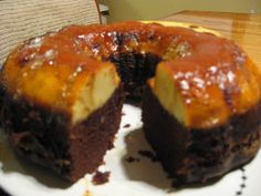 The Coffee Shop: The perfect dessert - Mexican Chocoflan cake!