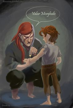 Valar Morghulis // Arya Stark & Jaqen H'ghar // Game of Thrones