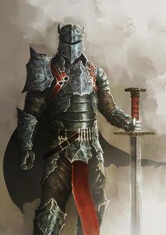 Classificação de relevância 2 _____________________________  palavras-chave: medieval, armadura imponente, cavaleiro. Classificação de _____________________________  Essa ilustração me atraiu pela imponência da armadura do guerreiro. _____________________________ www.deviantart.com/