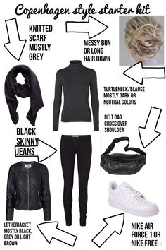 Copenhagen style starter kit for teenage girls