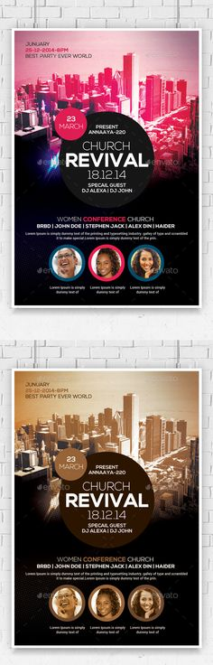 Church Anniversary Flyer  Churches Flyer Template And Anniversaries