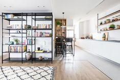 Check it out! Simple Apartment Decor, Interior Design Studio, Living Room Decor, Family Room, House Design, Shelves, Furniture, Home Decor, Israel