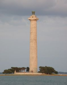 Perry Memorial, Ohio...This is the tallest aid to navigation in the U.S., 75% taller than Cape Hatteras Light.