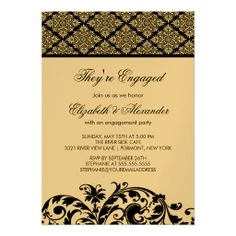 >>>Are you looking for          Damask Vintage Engagement Party Invitation Black           Damask Vintage Engagement Party Invitation Black Yes I can say you are on right site we just collected best shopping store that haveThis Deals          Damask Vintage Engagement Party Invitation Black...Cleck See More >>> http://www.zazzle.com/damask_vintage_engagement_party_invitation_black-161617010582620778?rf=238627982471231924&zbar=1&tc=terrest