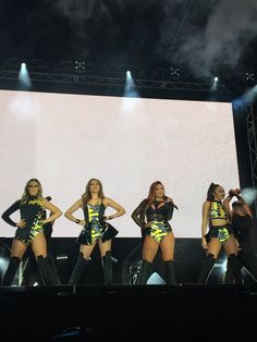 Little Mix on the Glory Days Tour - Summer Shoutout Tour