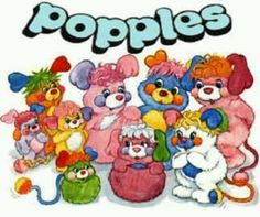 The Popples movies were the best! Loved the carwash and the beach one! I'd replay and replay them!
