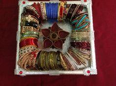 Desi Wedding Decor, Wedding Gifts For Bride, Indian Wedding Decorations, Wedding Crafts, Bride Gifts, Diy Wedding, Wedding Events, Thali Decoration Ideas, Trousseau Packing