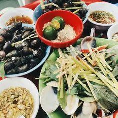 Hanoi's boiled snail