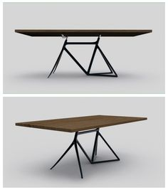 Bicycle Frame as table