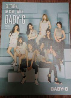 SNSD Girls Generation 2017 CASIO BABY-G PHOTO CATALOGUE CATALOG BOOK New