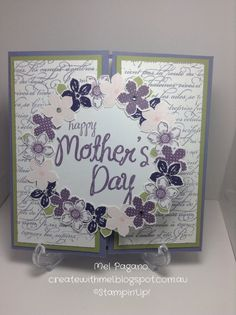 Handmade Mother's Day Card  Stampin' Up by CreatewithMel on Etsy, $6.00
