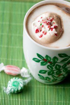 Peppermint Mocha: Chocolate syrup, espresso or coffee, milk or cream, stir with a candy cane It tastes like Christmas!