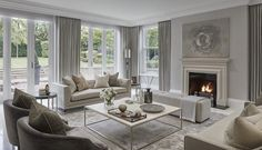 """""""Restful formal lounge at The Wentworth project"""""""