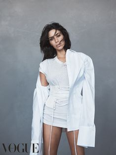 Keeping Up With Kimye — Kim Kardashian West for Vogue Australia shot by...
