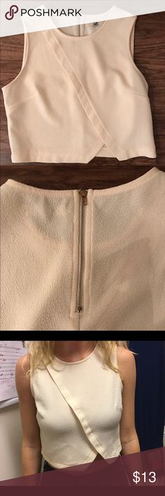 Small Ivory Crop Top Small Ivory Crop Top. Great for upcoming holiday parties! Perfect length - not too revealing! Ya Los Angeles Tops Crop Tops