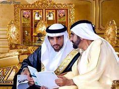 Sheikh Mohammed And Sheikh Hamdan Dubai Royal Family