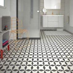 sol pvc noir et blanc livingstone gatsby noir artens textile l 4 m leroy merlin bricolage. Black Bedroom Furniture Sets. Home Design Ideas
