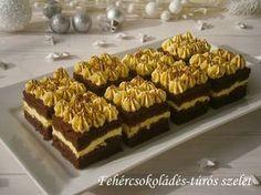 Hankka: Fehér csokoládés-túrós szelet - BOLDOG KARÁCSONYT!!!