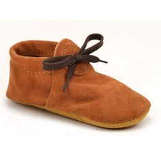 $36 soft-sole moccasins for kids.