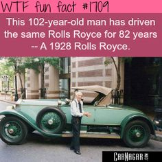 #RollsRoyce for 82 year..... #carfact