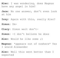 #malec #dirty #funny #edit #Magnus #angel