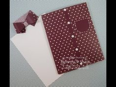 Hi Everyone! Join me in making super sized envelopes! Grab your Envelope Punch Board and a 12x12 piece of Designer Paper and make with me! Happy Crafting!~ D...