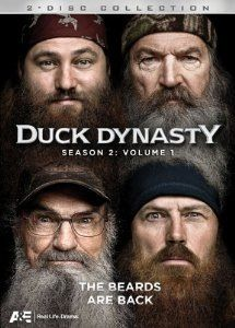 Duck Dynasty - my new favorite show! When you need a good laugh!