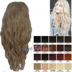 Natural looking synthetic wigs ..great for holidays and everyday wear.