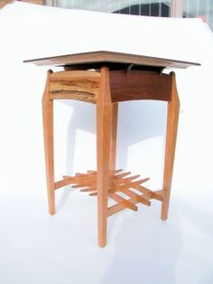 Small side table with an asian flair. - Reader's Gallery - Fine Woodworking