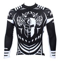 New Cycling Men's Long Sleeve Cycling Jersey Bike Shirt Breathable quick-drying Bicycle Tops#077