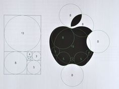 Apple Logo Grid (Golden Section)