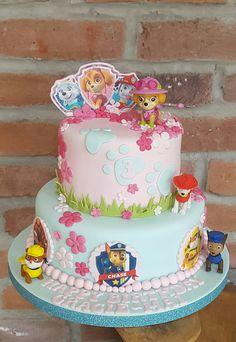 Girls paw patrol cake ☺