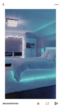 Create the mood with LED strip lighting.#contemporaryled.com